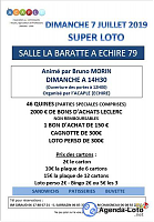 ACAPLE Echiré : super loto