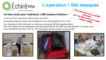 Opération 1 000 masques solidaires